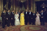 Leaders from Economic Summit Pose with British Royal Family in May 1977 Posters