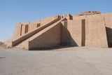Great Ziggurat of Ur Built by Neo-Sumerians King Nabonidus in 5th Century BC Print