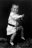 Future Us President Lyndon Johnson at 18 Months Old Poster