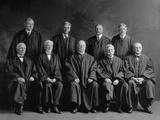 Taft Court: United States Supreme Court Group Portrait, Ca. 1925 Photo