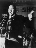 James Farmer, Co-Founder of Congress of Racial Equality, Speaking in Harlem, 1965 Posters