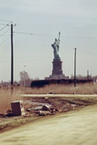New Jersey Dump with Statue of Liberty in the Distance, 1970s Prints