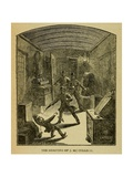 Masked Robbers, Suspected to Be the James Gang, Robbed a Passenger Train, July 1881 Prints