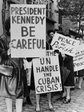 Women Strike for Peace During the Cuban Missile Crisis, Oct. 1962 Posters
