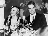 Howard Hughes and Ginger Rogers at the Beverly Wilshire Hotel in 1937 Photo