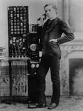 Long Distance Operator for the for Aa&T in Marietta, Georgia, 1885 Photo