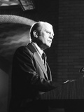 President Gerald Ford Speaking at the Dedication of National Defense University, 1977 Posters