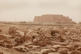 Great Ziggurat of Ur Built by Neo-Sumerian King Nabonidus in 5th Century BC Photo