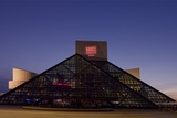 Rock and Roll Hall of Fame Was Designed by Architect I.M. Pei, Cleveland, Ohio Posters