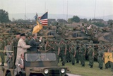 Present Jimmy Carter and Helmut Schmidt Review Nato Troops, July 15, 1978 Photo