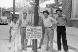 Striking Coca-Cola Workers in Sikeston, Missouri, May 1940 Photo