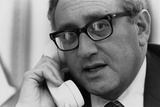 Henry Kissinger on the Phone During the Collapse of the South Vietnam, April 1975 Prints