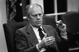 President Gerald Ford During Mayaguez Incident Involving Khmer Rough, May, 1975 Photo