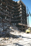Ruins of the Bombed Alfred Murrah Federal Building, Oklahoma City, 1995 Photo