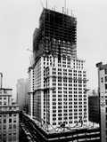 Empire State Building Built Up to the 40th Floor in the Early 1930s Photo
