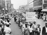 Striking Southern Textile Workers on Labor Day, Gastonia, North Carolina, 1934 Posters
