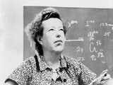 Maria Goeppert-Mayer Shared 1963 Nobel Prize for Physics with J. Hans D. Jensen Print