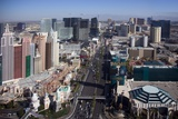 Daytime View of the Las Vegas Strip. Oct. 2009 Photographic Print