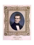 James Polk, President of the United States, Ca. 1846 Poster