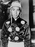 Angel Cordero Dressed in Racing Silks in 1964 Photo