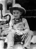 Future Us President Lyndon Johnson as a Child, Ca.1915 Posters