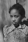 Daughter of an African American Tenant Farmer in Creek County, Oklahoma, 1940 Posters