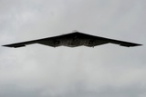 B-2 Heavy Stealth Bomber Can Deliver Conventional or Nuclear Weapons. 2009 Photo