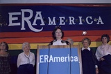 Rosalynn Carter Speaking for Equal Rights Amendment at Women Conference, 1977 Prints