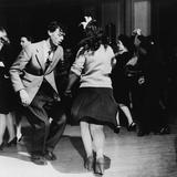Jitterbugs at an Elk's Club Dance, in Washington, D.C. April 1943 Photographie