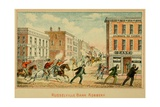 Bank Robbery in Russellville, Kentucky Print