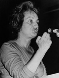 Feminist Author Betty Friedan Speaking at Congress on Sexism, St. Paul, Mn, 1970 Posters