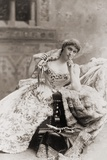 Lillie Langtry, Society Beauty, Actress, and Mistress to the Prince of Wales, 1887 Photo