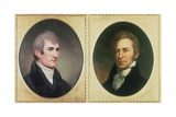 William Clark and Meriwether Lewis Posters by Charles Currier Fenderich