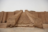 Step of the Great Ziggurat of Ur Built by Neo-Sumerian King Nabonidus in 5th C. BC Photo