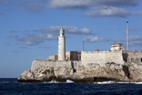 Morro Castle Guarded Havana Harbor by Running a Chain across the Harbor Entrance Photographic Print