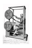 18th Century Machine for Exercising the Joints and Muscles of the Human Body Posters