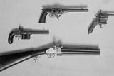 Historical Revolvers. Photo Ca, 1910 Photo