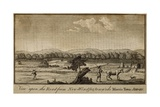 Road from New Windsor Towards Mossis Town Jersey, Columbian Magazine, 1787 Art
