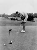 Joe Namath Playing Golf at the University of Alabama in Tuscaloosa, 1966 Photo