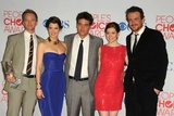 Cast of How I Met Your Mother at People's Choice Awards 2012, Los Angeles, Jan 11, 2012 Poster