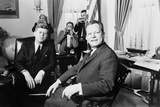 President Kennedy and West Berlin Mayor Willy Brandt on March 13, 1961 Photo