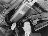 Harold Lipchik Introduced an Early Emission Control Devices for Cars in 1964 Photo
