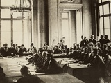 German Delegates at the Paris Peace Conference after WW1, 1919 Posters