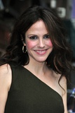 Mary-Louise Parker at Late Show with David Letterman, Ed Sullivan Theater, New York, Aug 25, 2009 Photo