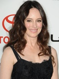 Madeleine Stowe at 2011 Environmental Media Awards, Warner Bros. Studios, Burbank, CA, Oct 15, 2011 Plakater