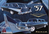 1957 Nomad Stretched Canvas Print