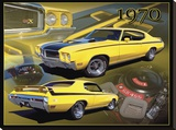 1970 Buick GSX Stretched Canvas Print