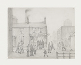 The Post Office, 1926 Premium Giclee Print by Laurence Stephen Lowry
