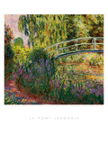Le Pont Japonais Prints by Claude Monet