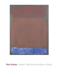Untitled, 1968 Poster di Mark Rothko